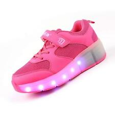 LED Light Skate shoes Roller Shoes Wheel shoes Sport Sneakers Flashing Recharge