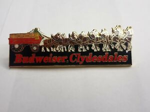 Budweiser Clydesdales Lapel Pin