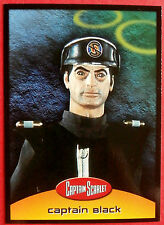 CAPTAIN SCARLET - Card #31 - Captain Black - Cards Inc. 2001