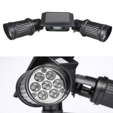 Adjustable Outdoor Motion Sensor PIR Security Bright Double LED Spot Lights