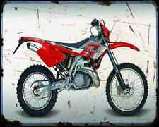 Gas Gas Ec 250 02 A4 Metal Sign Motorbike Vintage Aged