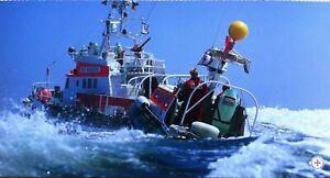 Ansichtskarte Seenotrettungskreuzer NIIS RANDERS und Tochterboot ONKEL WILLI