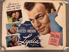 Lydia (1941) Original US Half Sheet Cinema Poster