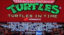 Teenage Mutant Ninja Turtles TMNT Turtles in time KONAMI 1991 JAMMA ARCADE PCB