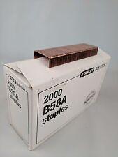 """Stanley Bostitch B58A 3/8"""" Staples 2000/Box NIB"""