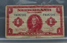 Nederland - Netherlands - 1 gulden 1943