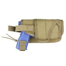 Condor MA68 TAN HT Pistol Handgun Holster MOLLE Tactical Horizontal Mount