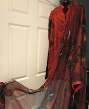 Asim Jofa Original Stitched Trouser And Kameez small/Medium Silky Dress
