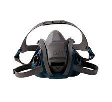 3M 49488 6501QL Comfort Quick Latch Half Facepiece Reusable Respirator, Small