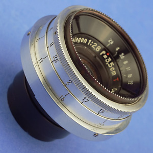 Zeiss Biogon 3.5cm 2.8 T Jena Lens for Contax RF and Nikon S Rangefinder Cameras