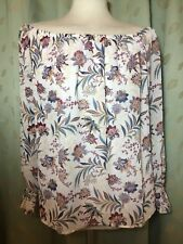 Ladies Off The Shoulder Gypsy Style Top Size L 14/16