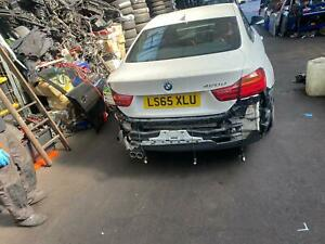 BREAKING BMW 4 SERIES 420 M SPORTS 2015 2.0 IN WHITE COLOUR WHEEL BOLTS