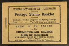 AUSTRALIA  SB28a  Beautiful  Mint  Never  Hinged  BOOKLET  BD2