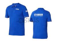 Genuine Yamaha 18 Paddock Blue Men's Polo Shirt ATV QUAD MOTORCYCLES 18