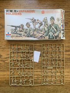ESCI #204 - 1/72 WW II Japanese Soldiers - Figures On Sprues UK