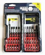 BOSCH 32pc IMPACT SCREW DRIVER DRILL BIT SET PHILLIPS TORX ROBERTSON SBID32
