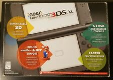 Nintendo New 3DS XL Launch Edition 4GB Black Handheld System - TOP IPS near mint