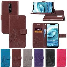 Per Nokia 2.1/3.1/5.1/6.1/7.1 magnetica Plus Filp Wallet Custodia Supporto Pelle Cover