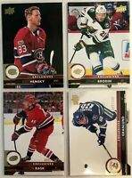 4 Card Lot 2017-18 Upper Deck Exclusives #/100 Hemsky Brodin Canucks Montreal
