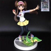 Pokemon Figure Series ARTFX Mei/Rosa & Snivy 1/8 Scale Pre-painted Toy In Box