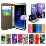 PU LEATHER WALLET PHONE CASE COVER FOR SAMSUNG GALAXY S3/S3 MINI,S4,S5,S8,S9,S9+