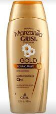 Grisi Manzanilla GOLD Shampoo | Chamomile Shampoo Nutricomplex Q10 - 13.5 Ounce