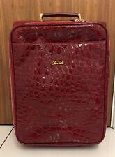 TERRIDA Red Leather Suitcase