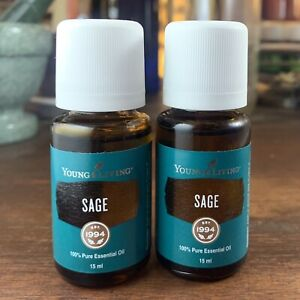 TWO Sage 15ml. - Young Living Essential Oils