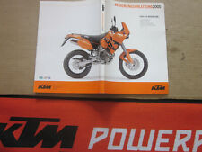 Bedienungsanleitung KTM 640 LC4 Adventure Reperaturanleitung owners manual Rally
