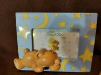 Little Suzy's Zoo Picture FRAME Blue Boof Moon Star  5 x 7 Holds 3 x 5 NEW