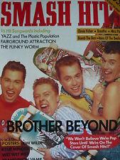 SMASH HITS 10/8/88 - BROTHER BEYOND - KYLIE MINOGUE - KIM WILDE