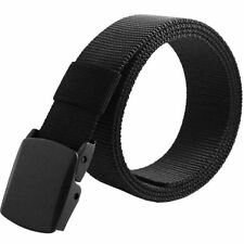 Outdoor Sports Men's Military Tactical Nylon Waistband Canvas Web Belt Fashion