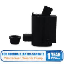 Font & Rear Twin Outlet Windscreen Washer Pump For Hyundai  Santa Fe Elantra