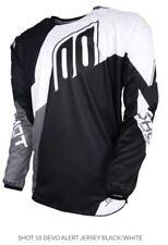 Shot Devo Alert Jersey Black/White MX Motocross Dirt Off-Road A0D-12C1-A04
