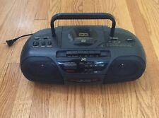 JVC RC-X250 Portable Stereo System AM/FM Radio, CD, Cassette No Remote