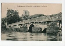 LAVARDIN - Le pont sur le Loir et le château  (C134)