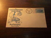 MAY 1954 SHENANDOAH CENTRAL TWEETSIE FIRST ANNIVERSARY SOUVENIR ENVELOPE #1