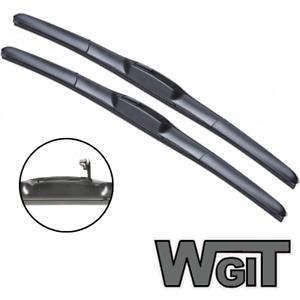 SsangYong Stavic Wiper Blades Hybrid Aero For VAN 2005-2014 FRONT PAIR 2 xBL