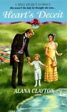 Heart's Deceit (Zebra Regency Romance), Clayton, Alana, 0821753223, Book, Good