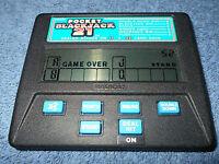 VINTAGE RADICA POCKET BLACKJACK 21 HANDHELD ELECTRONIC GAME MODEL 1350 - NICE
