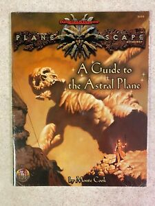 SEALED 1996 Planescape A GUIDE TO THE ASTRAL PLANE TSR 2625 Dungeons & Dragons