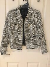 Zara Tweed Wool Jacket, Size S