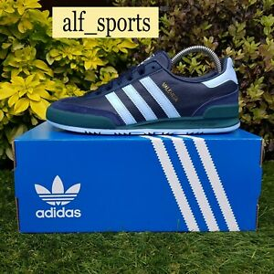 "❤ BNWB & Genuine adidas originals ® Valencia ""Jeans"" Leather Trainers UK Size 9"