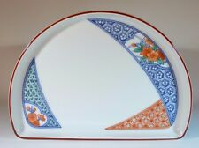 Delta Air Lines Vintage First Class Japan Service Half Oval Plate