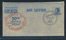 13493) aerogramme australia aeropex 94, 19.11 SST., Rocket Space