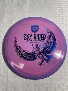 Discmania Swirly S-Line Simon Lizotte SKY RIDER PD2 Pink/Purple W/Blue Stamp