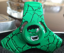 Alloy Fidget Hand Spinner Triangle Finger Focus ADHD EDC Toy  Hulk Super Hero