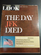 LOOK Magazine Feb 7 1967 THE DEATH OF A PRESIDENT part TWO John F. KENNEDY JFK