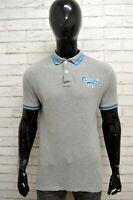 Polo Uomo Grigio CARLSBERG Taglia M Maglia Maglietta Shirt Cotone Man Slim Fit