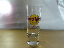 "Hard Rock Cafe Shot Glass 4"" - Baltimore"